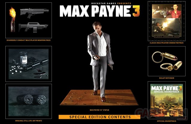 Max Payne 3 collector 06.05.2014