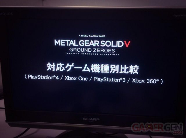 Metal Gear Solid V Ground Zeroes 06.02.2014