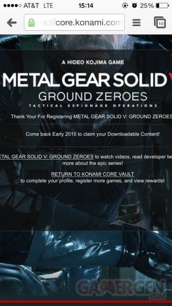 metal gear solid v the phantom pain date de sortie dlc ground zeroes