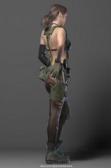 Metal Gear Soliv V The Phantom Pain Quiet 002