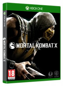 Mortal Kombat X jaquette Xbox One 1
