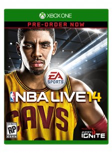 NBA Live 14 jaquette Xbox One