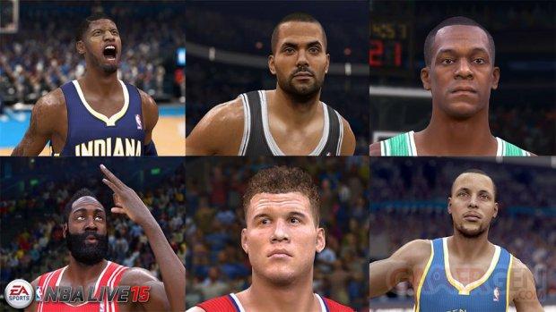 NBA Live 15 joueurs annonce E3
