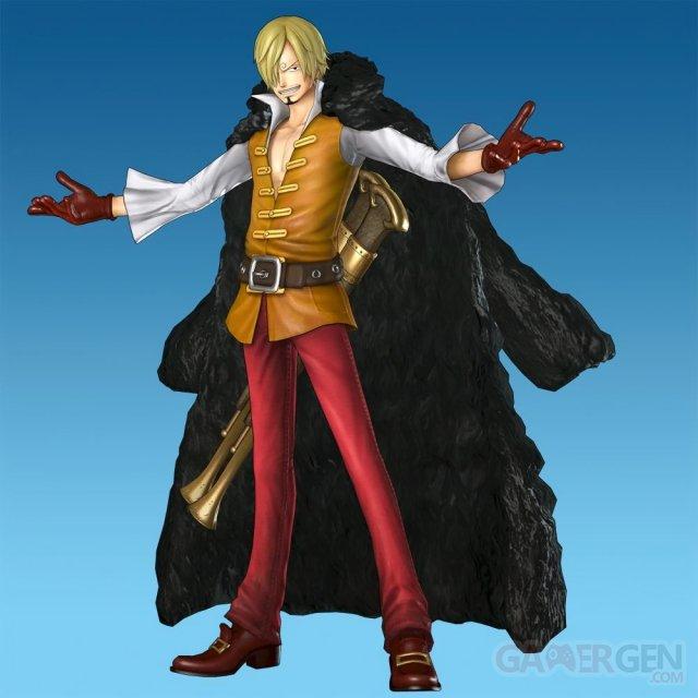 One Piece Pirate Warriors 2 sanji film z 22.11.2013