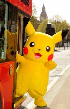 Pikachu & Bus 1