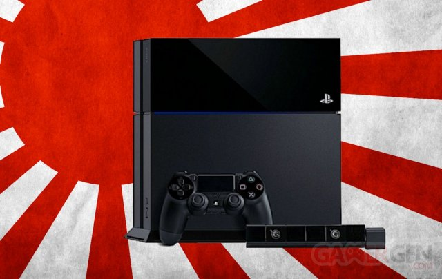 PlayStation 4 PS4 Japan 25.02.2014