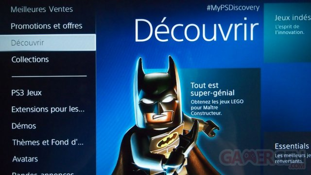 PlayStation Store PS3 decouvrir 23.05.2014