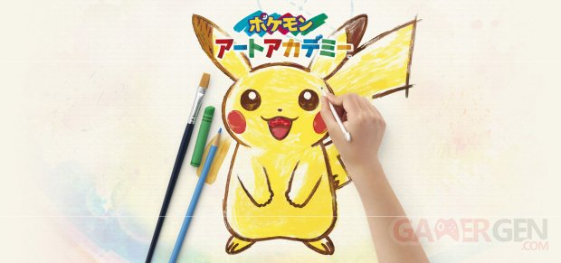 Pokémon Art Academy 29 04 2014 artwork wallpaper Pikachu