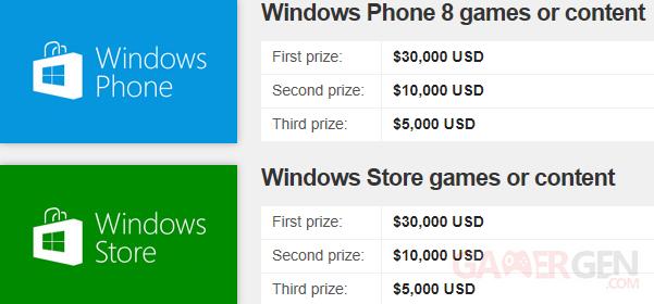 Prix-Windows Unity Concours