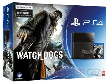 PS4 pack Watch Dogs