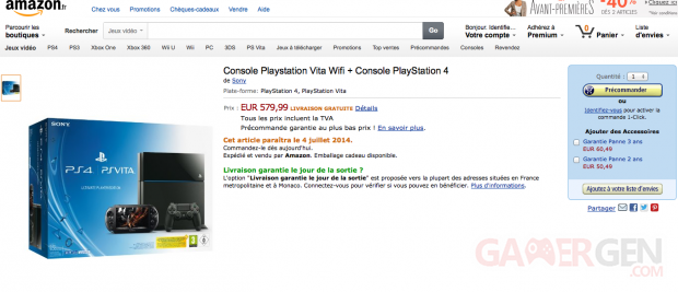 PSVita 2000 + PS4