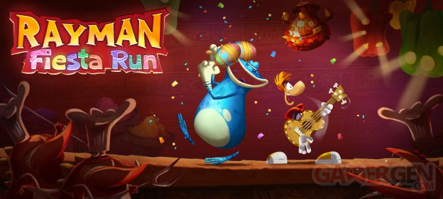 Rayman Fiesta Run image screenshot