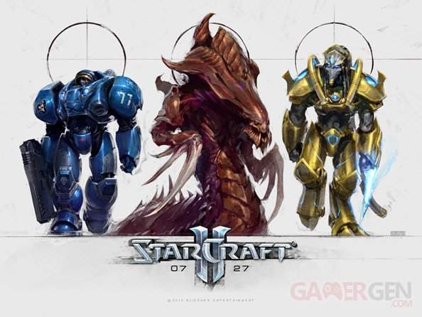 starcraft birthday wallpaper
