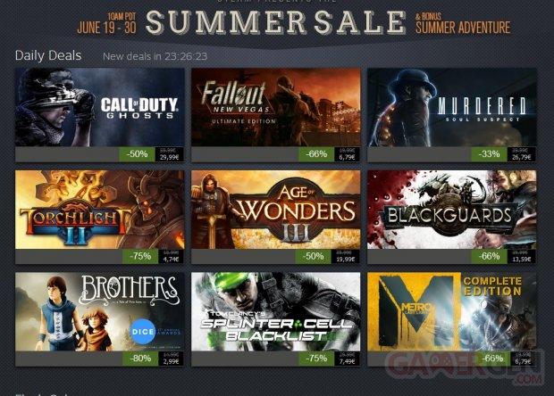 Steam Summer Sale Jour 6