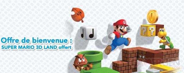 Super Mario 3D Land Offert Pour Les Nouveaux Possesseurs De 3DS