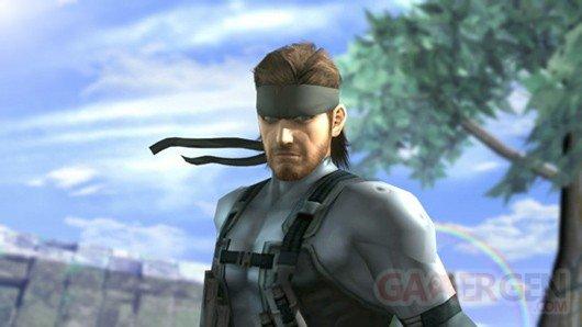 super smash bros brawl melee solid snake 01