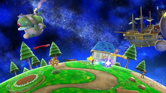 Super Smash Bros Mario Galaxy