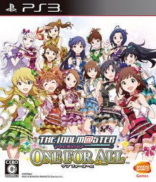 The Idolmaster One For All jaquette jp