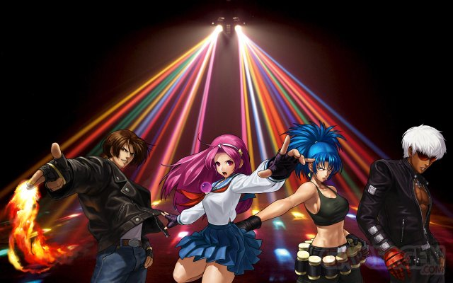 the-king-of-fighters-disco