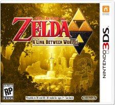 the legend of zelda a link between worlds jaquette us 3DS