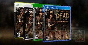 The Walking Dead saison 2 boites