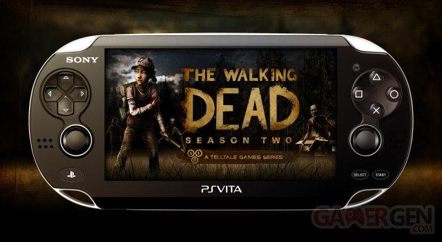 The Walking Dead Saison 2 PSVita