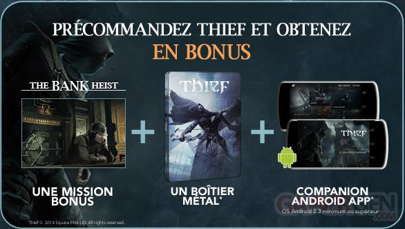thief bonus precommande