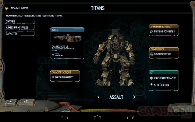 Titafall application compagnon GamerGen (5)