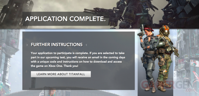 Titanfall Be?ta Xbox One