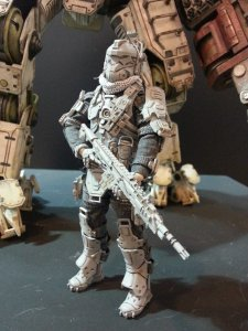 Titanfall figurine Threezero photos 2