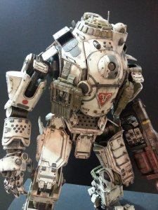 Titanfall figurine Threezero photos 5