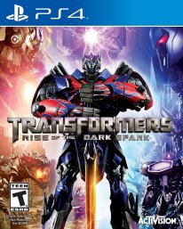 Transformers Rise of the Dark Spark cover boxart jaquette us ps4