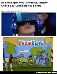 Troll Oculus Rift Facebook