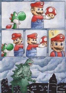 Trolls Godzilla Yoshi