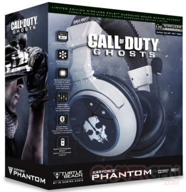 turtle beach call of duty ghosts casque Phantom bundle