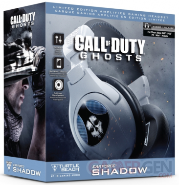 turtle beach call of duty ghosts casque Shadow bundle