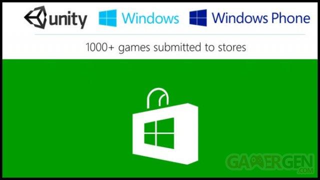Windows Store Unity