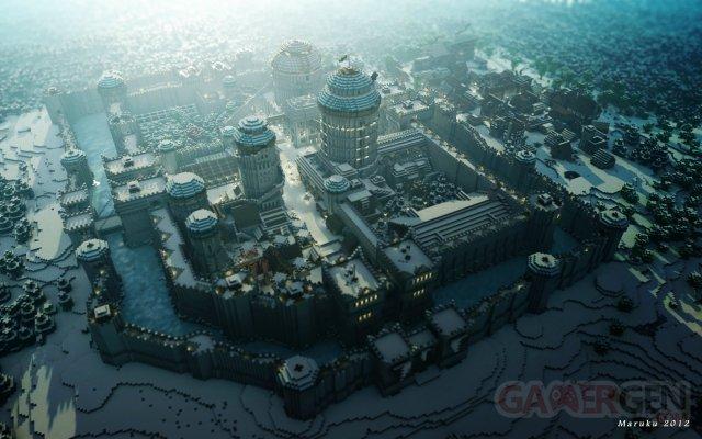 Winterfell Minecraft Game of Thrones