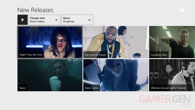 Xbox Music clips vidéo