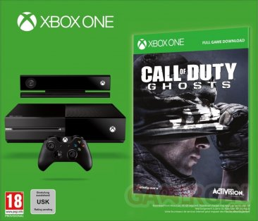 Xbox One Call of Duty Ghosts 31.08.2013.