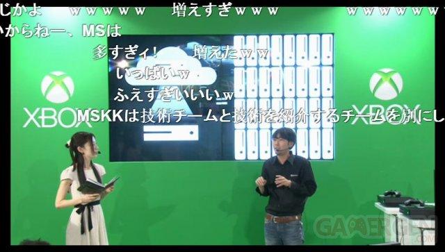 Xbox One Cloud présentation japon 04