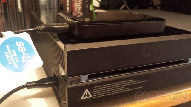 Xbox One HDD stockage externe Gamergen