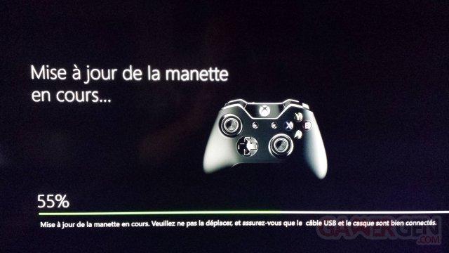 Xbox One manette mise à jour (2)
