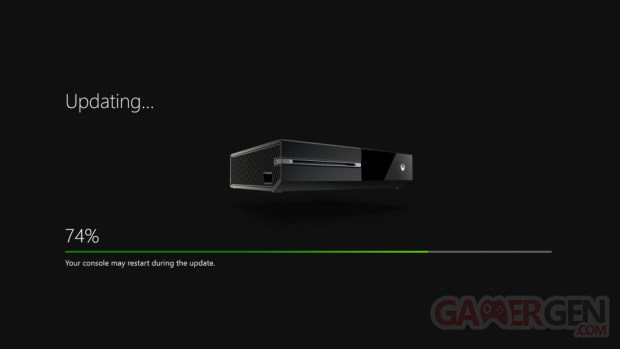 xbox one Mise jour update systeme
