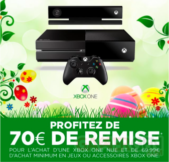 Xbox One promotion Micromania