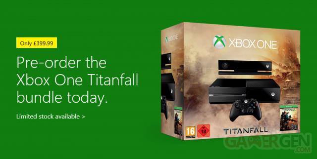 Xbox One titanfall bundle UK
