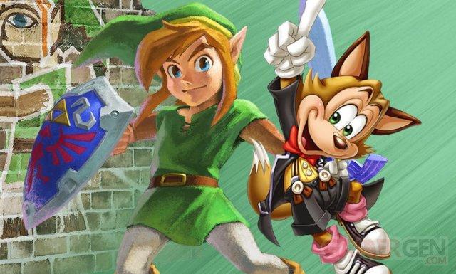 Zelda a link between world famitsu 18.12.2013.