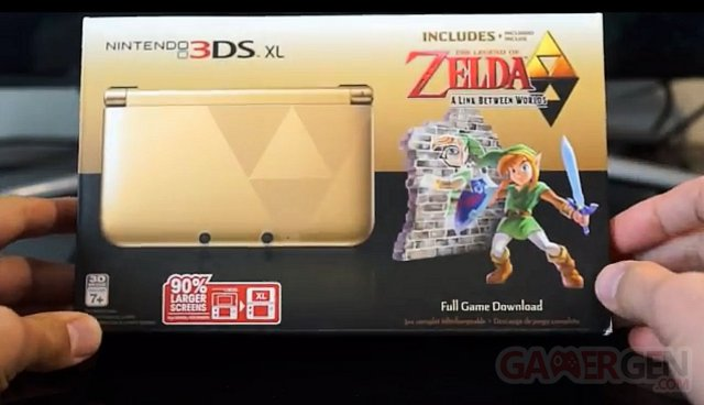 Zelda A Link Between Worlds 3DS XL 08.11.2013.